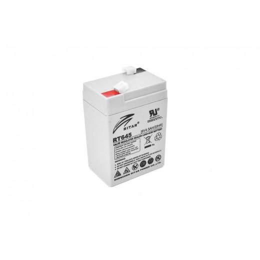 RITAR RT645, 6V 4.5Ah - описания, отзывы, подробная характеристика