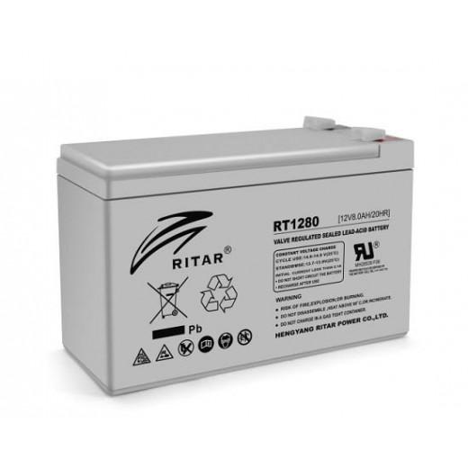 RITAR RT1280, 12V 8.0Ah - описания, отзывы, подробная характеристика