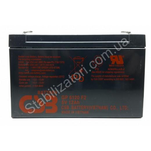 CSB GP6120, 6V 12Ah - описания, отзывы, подробная характеристика