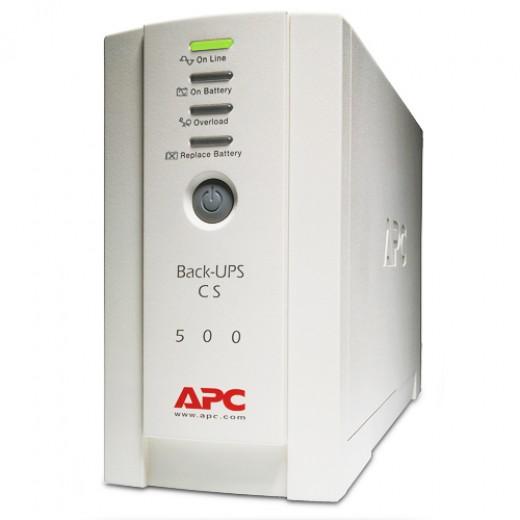 ИБП APC Back-UPS CS 500VA - описания, отзывы, подробная характеристика